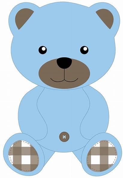 Teddy Bear Clipart Danimfalcao Shower Ursinhos Minus