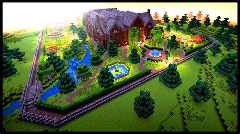 designing  garden  minecraft youtube