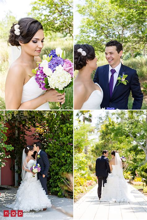 naples botanical garden wedding damaris george