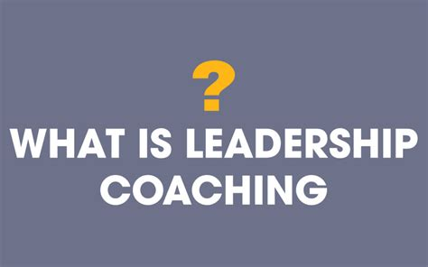 leadership coaching    statistics