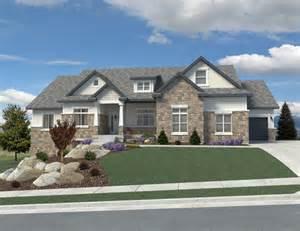 Customs Homes Designs by Utah Custom Home Plans Davinci Homes Llc
