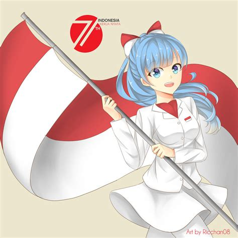 Anime Indonesia Com Indonesia Merdeka By Ricchan08 On Deviantart