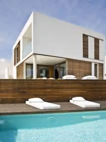 zen style home on the spanish seaside modern house designs