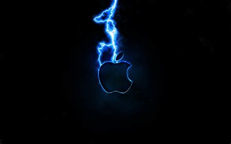 apple inc lightning logos 1920x1200 wallpaper technology