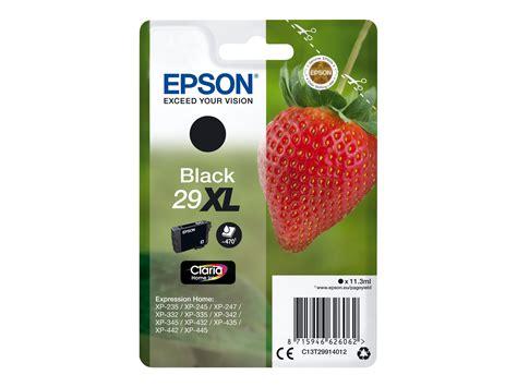 cartouche epson fraise epson t29xl fraise noir cartouche d encre originale epson