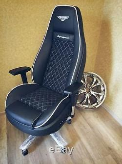 bentley continental gt office chair oem seat
