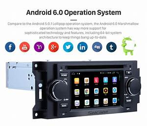 Android 6 0 Stereo Car Radio Gps Navigation System