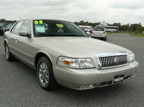 car owners manuals for sale 2008 mercury grand marquis interior lighting used car maryland 2008 mercury grand marquis for sale youtube
