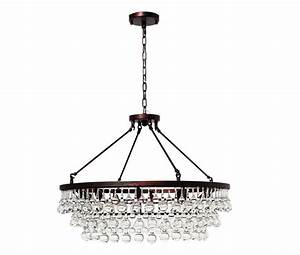 Celeste glass drop crystal chandelier oil rubbed bronze light up my home lightupmyhome