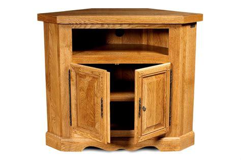 meuble tv et bureau meuble tv d 39 angle en chêne massif rustique hellin