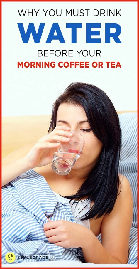 There are good reasons to drink coffee and there are a few reasons not to. Why You Should Drink A Glass Of Water Before Your Morning Tea Or Coffee #weightlossrecipes ...