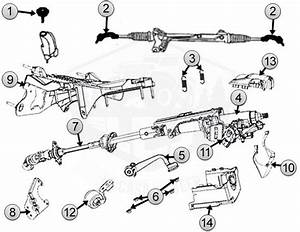 Diagrams For Jeep    Steering Parts    Liberty Kk  2008