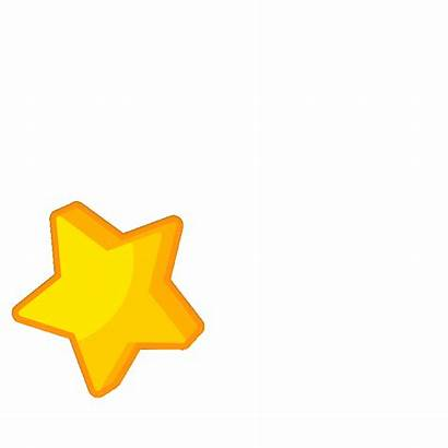 Shooting Clipart Stars Transparent Animated Stickers Sticker