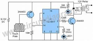 Touch Toggle Switch