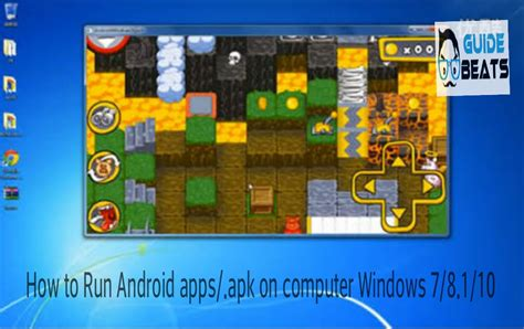 How To Run Android Appsapk Files On Windows 78110