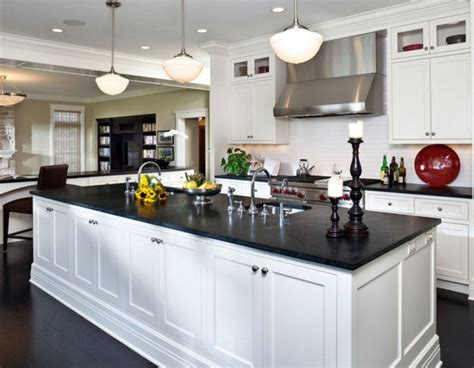 55 Inspiring Black Quartz Kitchen Countertops Ideas