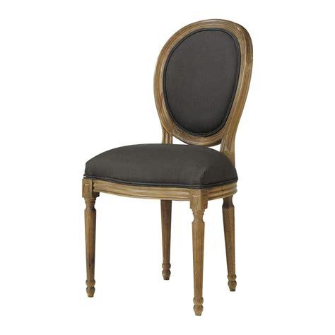 chaise louis maison du monde chaise médaillon en et chêne massif louis