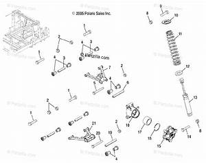 Polaris Side By Side 2007 Oem Parts Diagram For Aarms  Mid