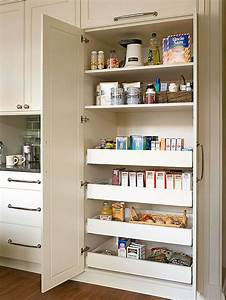 Creative pantry organizing ideas and solutions for Built in kitchen pantries