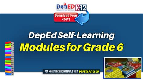 deped  learning modules  grade