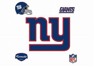 New York Giants Logo Wall Decal Shop Fathead® for New