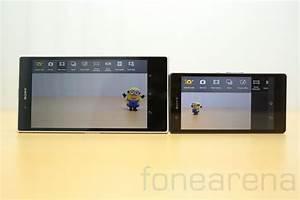 Sony Xperia Z Ultra vs Xperia Z