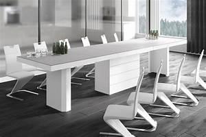 Esstisch Weiß Matt : design esstisch he 444 grau matt wei hochglanz kombination ausziehbar 160 223 286 349 ~ Yasmunasinghe.com Haus und Dekorationen