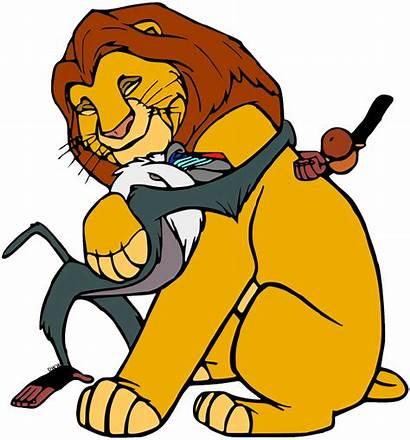 King Clipart Lion Mufasa Rafiki Clip Simba