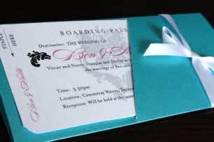 purple wedding invitations boarding pass wedding invitations - Boarding Pass Wedding Invitations