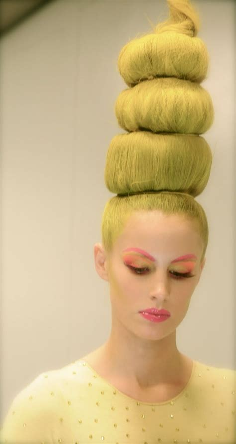 beehives bouffants curls  swirls crazy big hair
