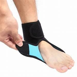 Breathable Ankle Support Sports Safety Brace Stabilizer ...