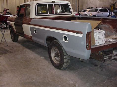 1978 Ford F250 Super Cab XLT: 460 Police Interceptor; C6