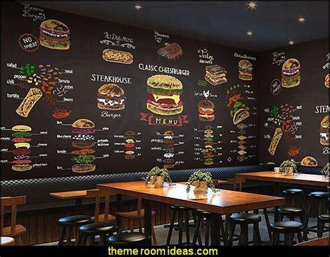blackboard dining large wall fruit coffee tea shop