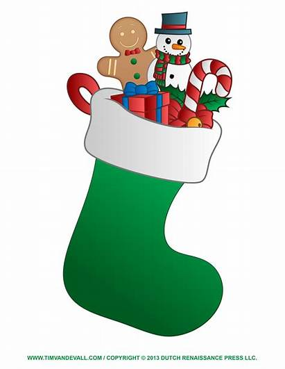 Christmas Stocking Clipart Clip Decorations Decoration Stockings
