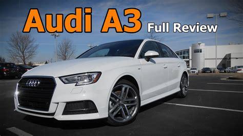 Review Audi A3 by 2017 Audi A3 Sedan Review Premium Premium Plus
