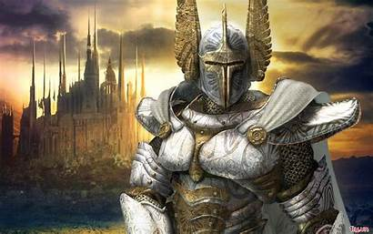 Medieval Knight Knights Magic Fantasy Heroes Wallpapers