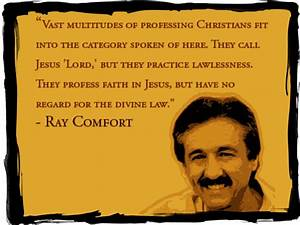 Ray Comfort - what's wrong with his gospel? - Redeeming ...