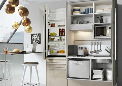 cuisine petit espace design cuisine pour studio comment l 39 aménager