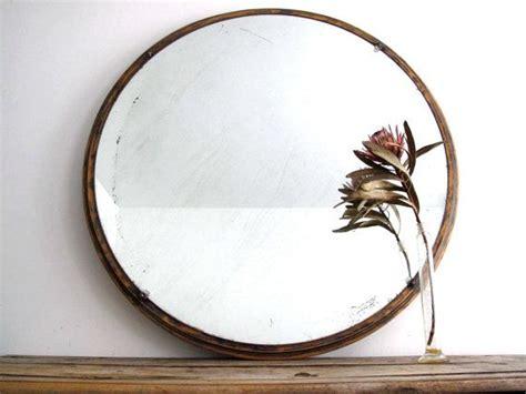 large  wall mirror wood framed hanging mirror art