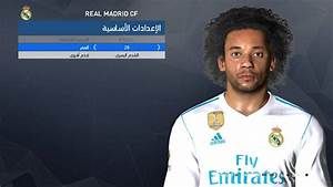 PES 2017 Marcelo Face by Facemaker Ahmed El Shenawy - PES ...