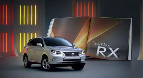 lexus rx  sport  commercials released
