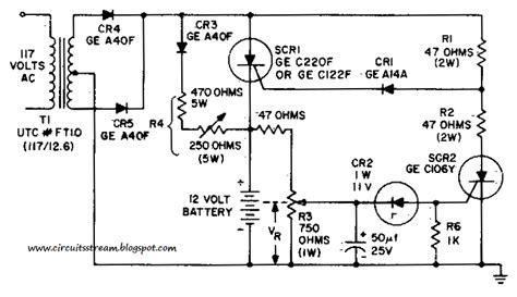 How Build Battery Charging Regulator Circuit Diagram