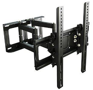 ricoo support mural tv orientable inclinable s6244 support ecran tv murale supports muraux tv