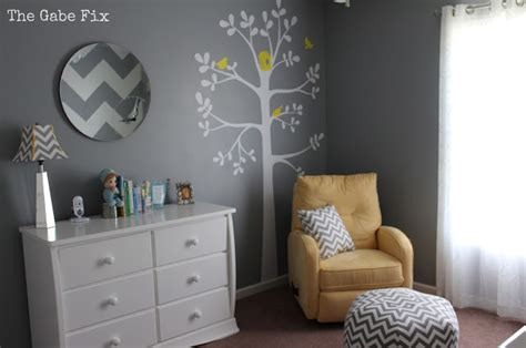 cover letter sample it baby chad s nursery the gabe fix by gabrielle flowers 21165 | gray and yellow chevron nursery