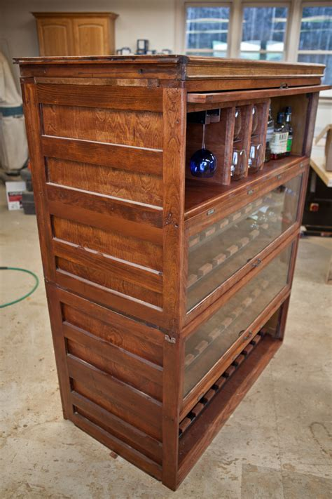 Barrister Bookcase by Barrister Bookcase Wine Cabinet Etsy