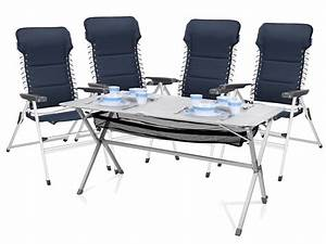 Campingtisch Mit Stühlen : 5tlg sitzgruppe essgruppe f r garten camping tisch 115x70x75cm kaufen bei setpoint ~ Eleganceandgraceweddings.com Haus und Dekorationen