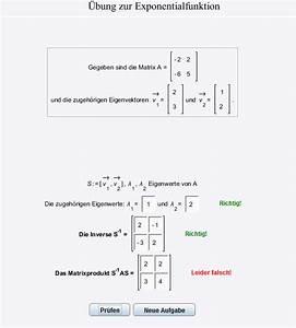 Matrizen Berechnen : exponentialfunktion exponentialfunktion von matrizen s 1 as berechnen mathelounge ~ Themetempest.com Abrechnung