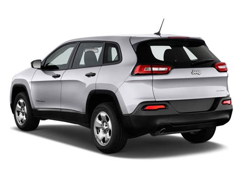 Image: 2017 Jeep Cherokee Sport FWD Angular Rear Exterior ...