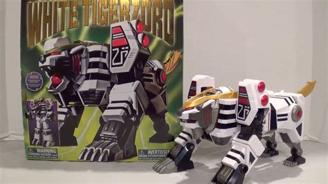 Legacy White Tigerzord Review [Mighty Morphin Power ...