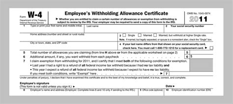 9 best photos of njw 4 forms 2016 printable 2014 income tax withholding tables sle w2 form